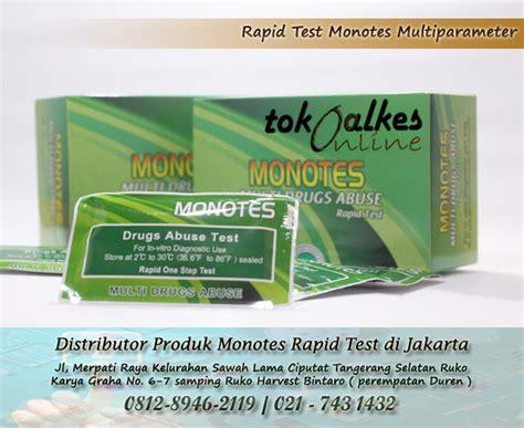 Alat Rapid Test distributor produk monotes rapid test di jakarta toko
