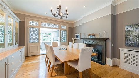 classic contemporary edwardian dining room victorian