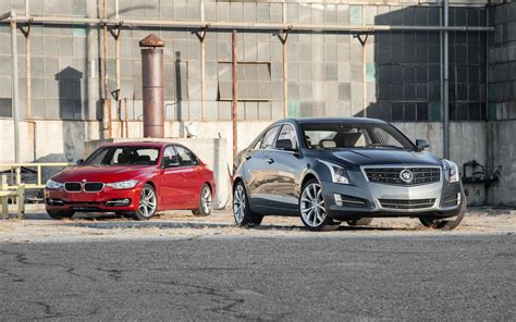 cadillac cts vs bmw 3 series mt then and now cadillac cts and ats vs bmw 3 series
