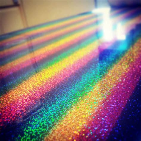 rainbow glitter  shirt vinyl