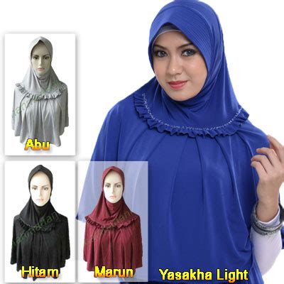 Toko Jilbab jilbab hessa hs yasakha light jual jilbab