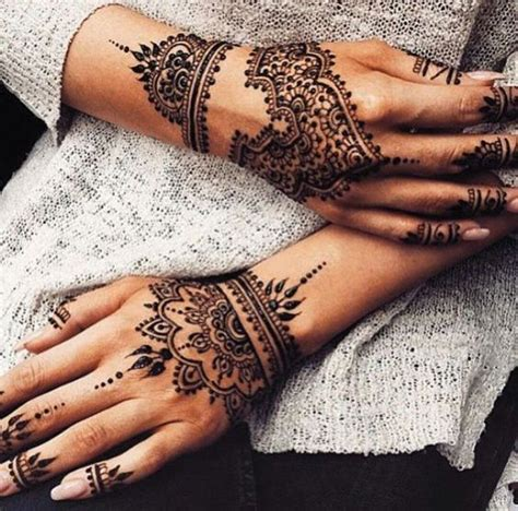 picture of beautiful finger hand and wrist tattoos the