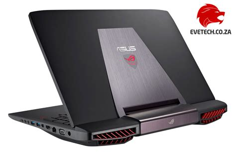 buy asus rog g751jt i7 gaming laptop with 32gb ram at evetech co za