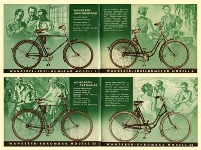 Motorfahrrad Deutschland by Wanderer Motorfahrrad Und Fahrrad Programm 7 1935 Nr