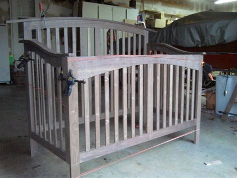 convertable crib plans page  woodworking talk