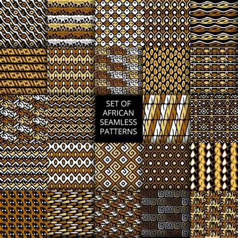 african pattern ai twenty five african patterns vector free download