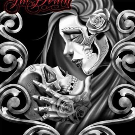 till death tattoo til dia de muertos