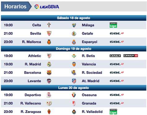 Calendario Canal Plus Liga Gol Televisi 243 N Ofrecer 225 7 Partidos Y Canal S 243 Lo 3 En La