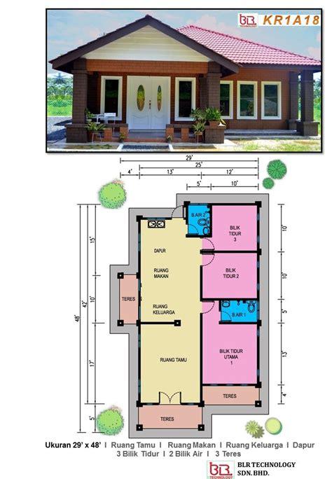 layout rumah 4 bilik 17 best images about pelan rumah ibs on pinterest house