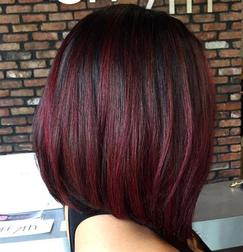 cherry coke hair color on african american women dark cherry hair color ideas for dark skin