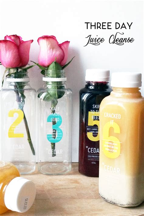 Cedar Detox by Lifestyle Cedar Juice 3 Day Juice Cleanse My