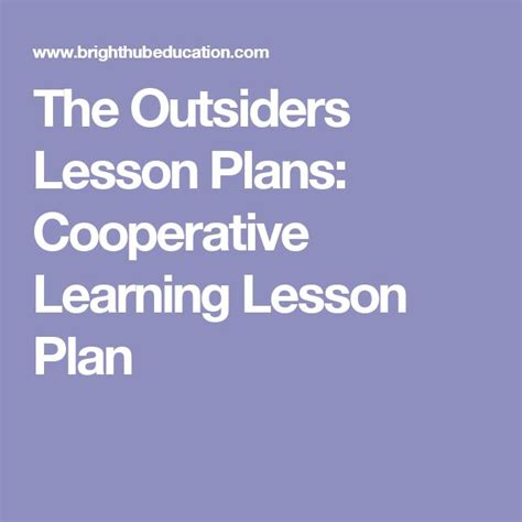 cooperative learning lesson plan template best 25 lesson plans ideas on lesson