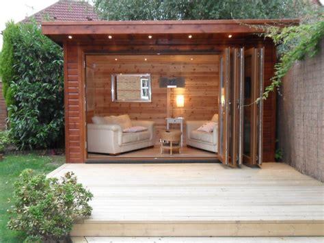 In The Garden Room bi folding garden room in crawley bakers timber buildings