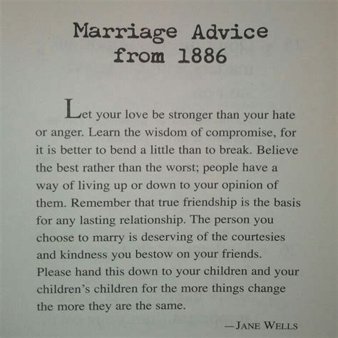 Marriage Advice by Marriage Advice From 1886 Not Just Marriage Advice But