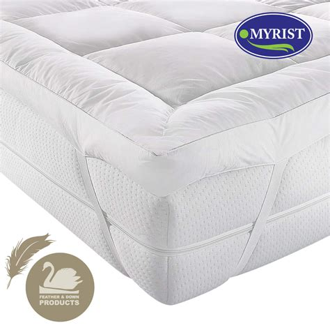 Feather Mattress Topper King by Dal2 187 White Duck Feather Mattress Topper King Size