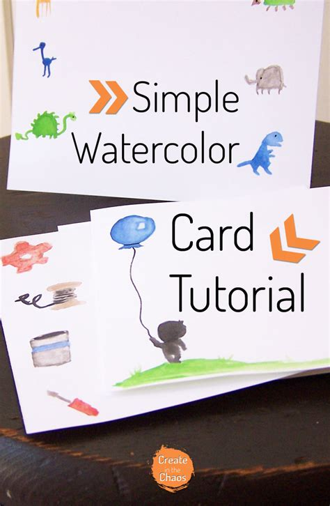 carding tutorial 2015 uk simple watercolor cards tutorial create in the chaos