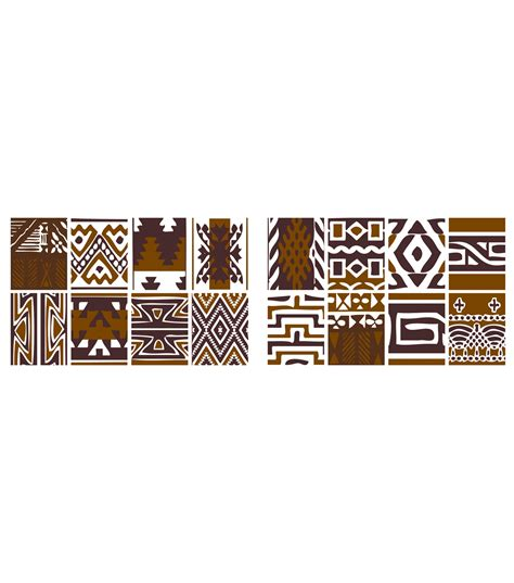 tribal home decor home decor tribal wall decal 16 piece set jo ann