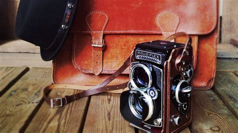 wallpaper camera tlr old rolleiflex camera hd wallpaper wallpaperfx