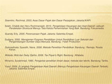 Br Manajemen Keuangan Daerah pengelolaan pajak