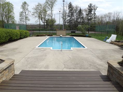 pool deck premier concrete coatings columbus ohio