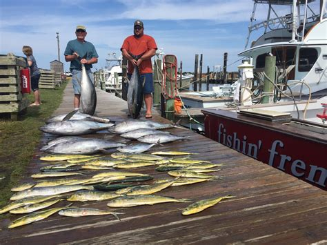 fishing frenzy boat fishing report fishin frenzy report on the latest obx