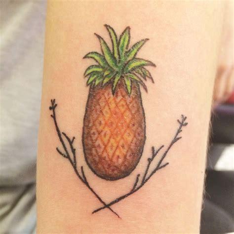 pineapple tattoo pinterest pineapple tattoo inspiration pinterest