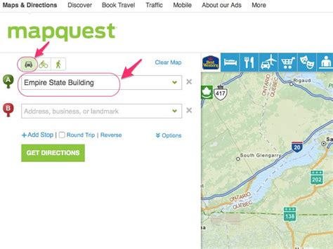get map directions mapquest driving directions results autos post
