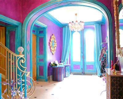 article couleur association bleue et violet