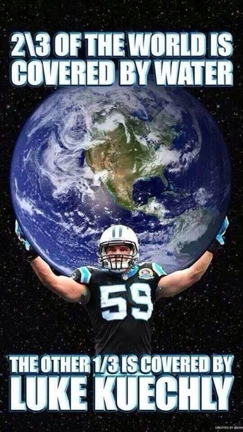 Luke Kuechly Meme - if luke kuechly doesn t win dpoy this season will be an