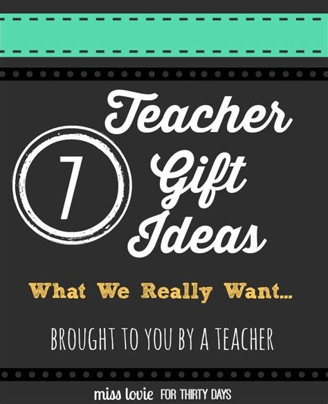 Classroom Gift Ideas - gifts ideas for gifts that teachers will