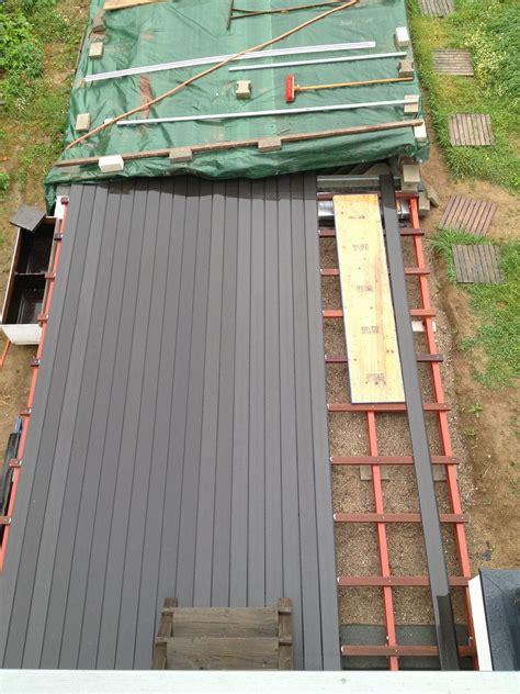 terrasse neubau neubau einer terrasse holz und beton