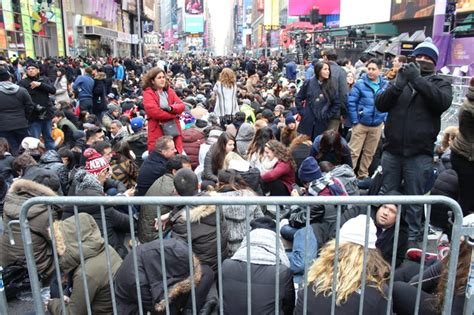 are there bathrooms in times square on nye crowds security checks and no bathroom it s new year s