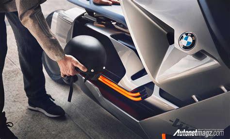 Bagasi Depan Motor bagasi bmw motorrad concept link e scooter