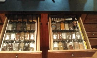 Expand A Drawer Spice Organizer by Expand A Drawer Spice Organizer The Container Store