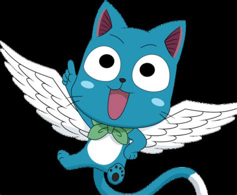 fairytale anime cats images happy natsu s pet cat hd wallpaper and