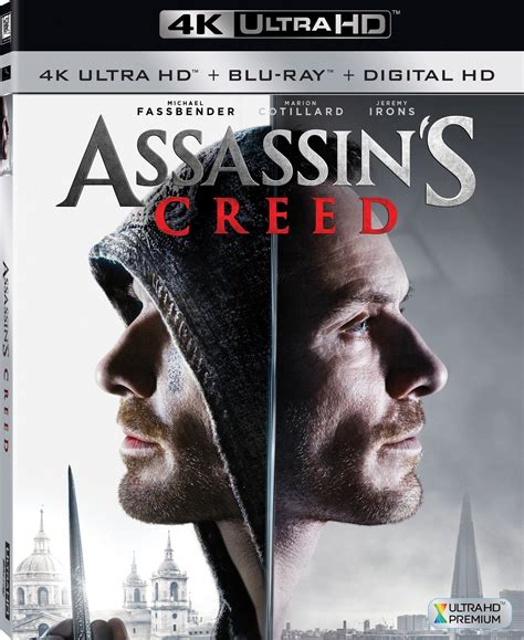 film blu ray uhd assassin s creed dvd release date march 21 2017