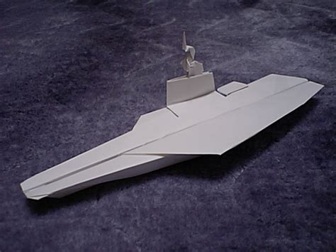 Origami Aircraft Carrier - origami airplanes photo and gallery models