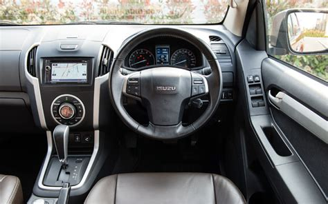 isuzu dmax interior isuzu d max utah pick up review carry a tonne in comfort