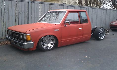 bagged nissan 720 1985 nissan 720 1 possible trade 100462045 custom