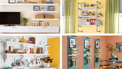 diy shelving ideas for added storage