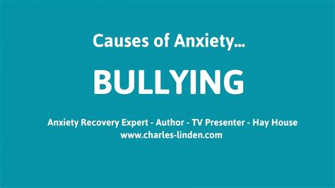 Bullying Causes by Causes Of Anxiety And Panic Attacks Bullying
