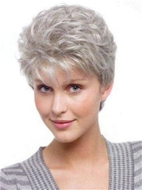 show me some short hairstyles for women 25 best ideas about curly gray hair on pinterest long