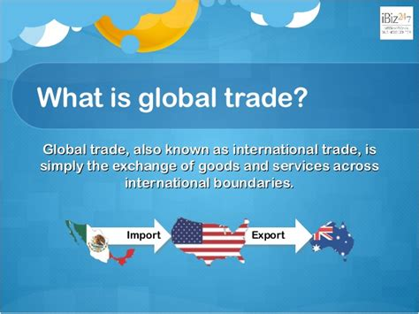 what are trade what is global trade