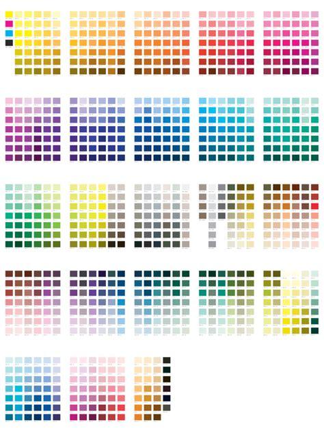 pantone colors 2018 pantone color chart template fillable printable