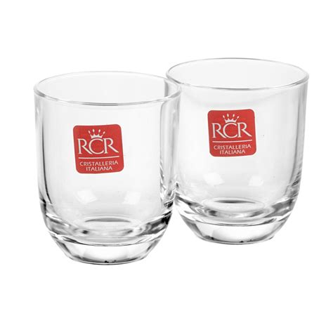 best barware glasses rcr toscana crystal stemless liqueur shot glasses 80ml