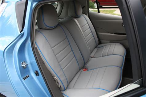 nissan leaf seat covers 2012 seat covers available my nissan leaf forum