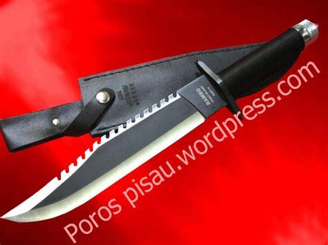 Pisau Rambo Original rambo knife part ii poros pisau