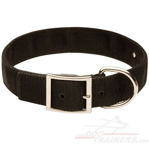 collars with name all weather 2 ply collar with name tag c42 1073 collar with name tag