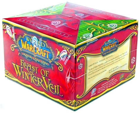 World Of Warcraft Gift Cards - world of warcraft feast of winter veil gift box da card world