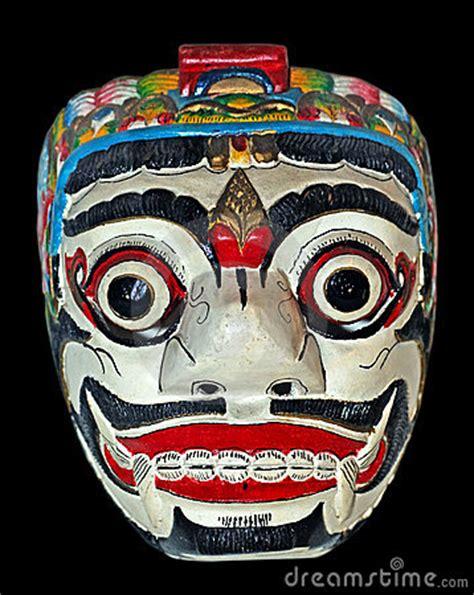 Masker Java indonesi 235 java masker stock afbeelding afbeelding 4275561